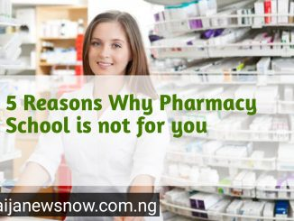 Why pharmacy schools is not for you