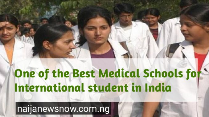 One of the Best Medical Schools for International student in India