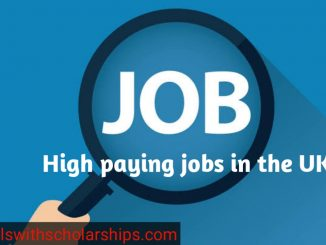 High paying jobs in the UK