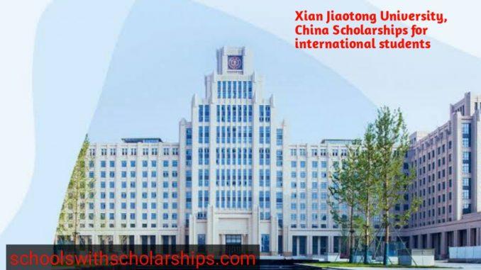 Xian Jiaotong University China