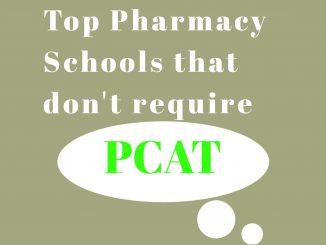Pharmacy Schools that do not require pcat