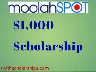Moolahspot scholarship
